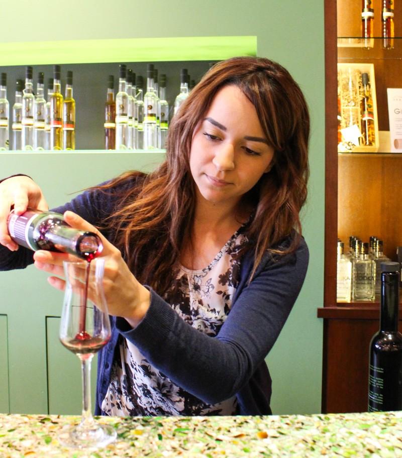 Sampling at Okanagan Spirits Craft Distillery in Kelowna British Columbia
