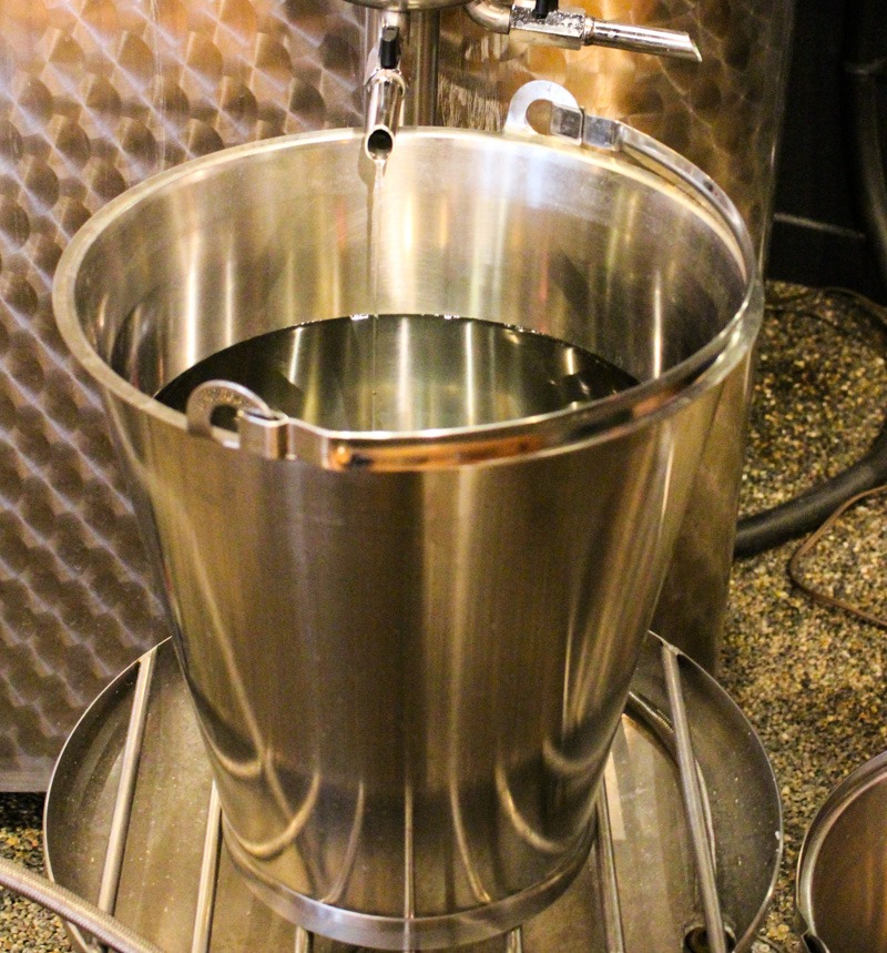Okanagan Spirits Craft Distillery Distillation Bucket Kelowna British Columbia