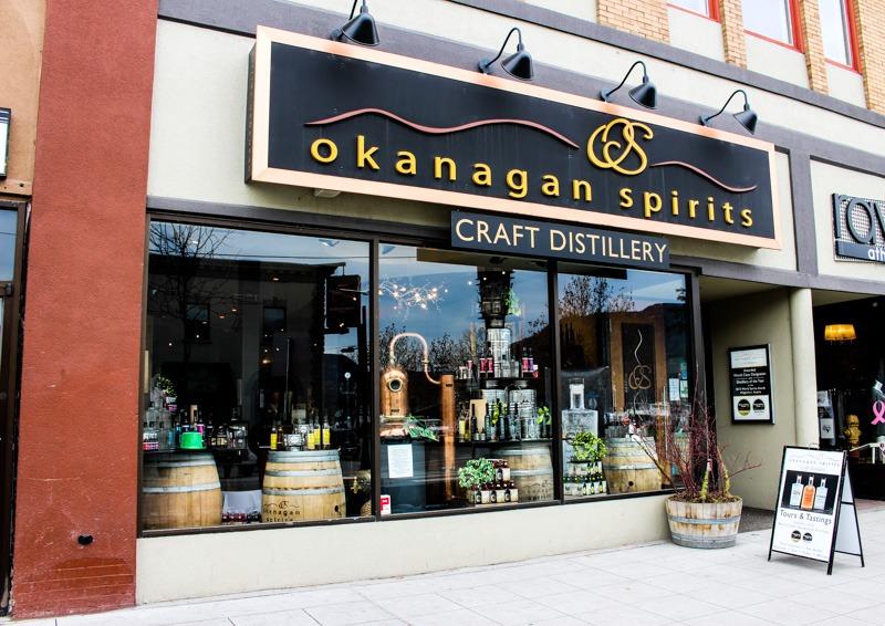 Okanagan Spirits Storefront Kelowna BC Canada
