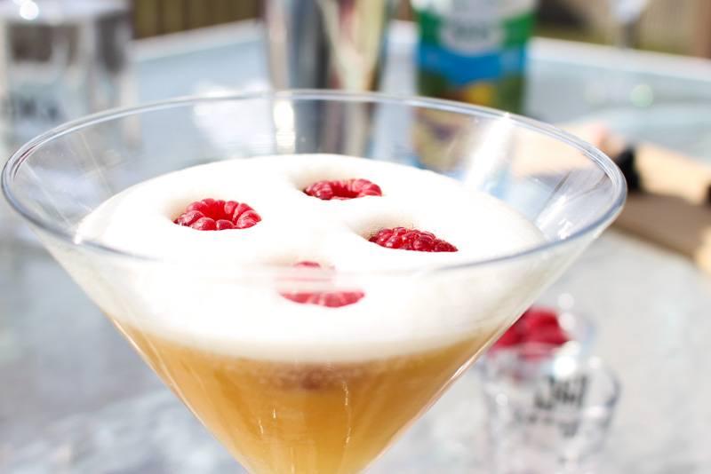 Virgin 3 Raspberries on Top Okanagan Spirits Craft Distillery