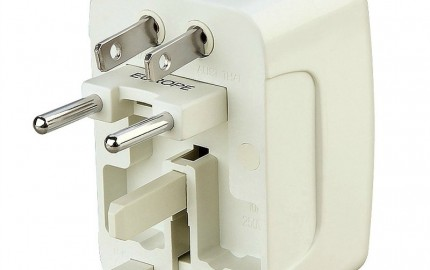 eForCity Universal World Wide Travel Charger Adapter Plug