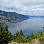 Kelowna Top of Knox Mountain on Apex Trail