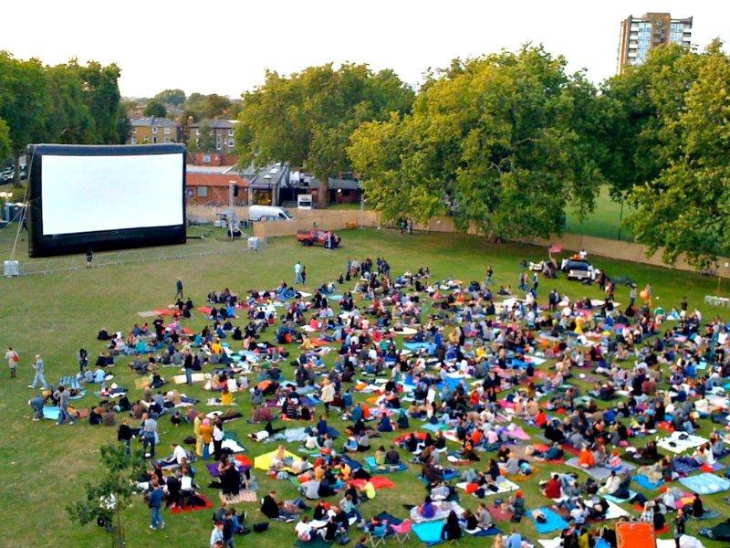 Secret Cinema in London Fields by San Sharma