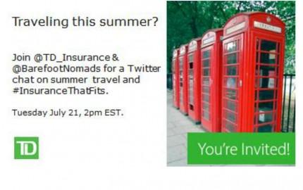 InsuranceThatFits Twitter Chat 800