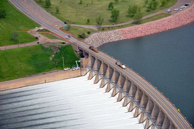 Garrison Dam photo by U.S. Army Corps of Engineers on Flickr