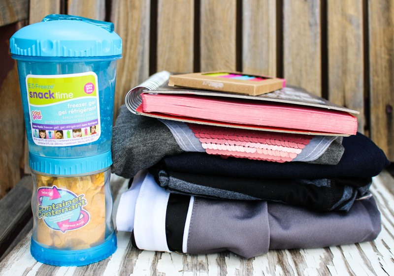 Marshalls back to school shopping books and snack container