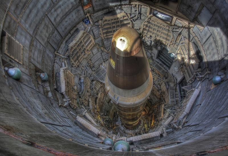 Nuclear Missile Silo Titan II ICBM in an underground complex photo by Steve Jurvetson on Flickr