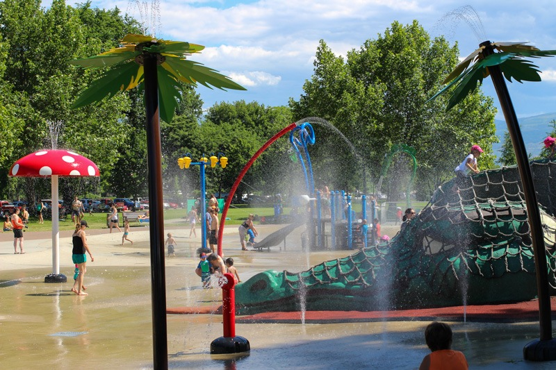 Kelowna City Park waterpark