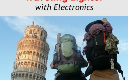 Tips for Traveling Lighter with Electronics