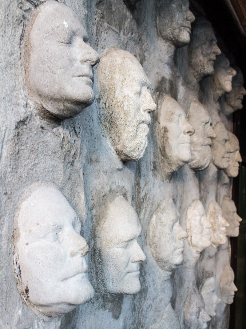 Casting Wall at the Brackendale Art Gallery in Squamish