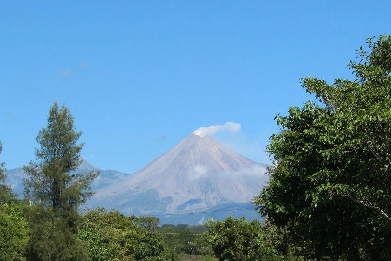 Colima Volcano near Zone Magica