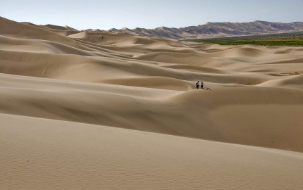 Khongoryn Els Singing Sand Dunes. Photo by