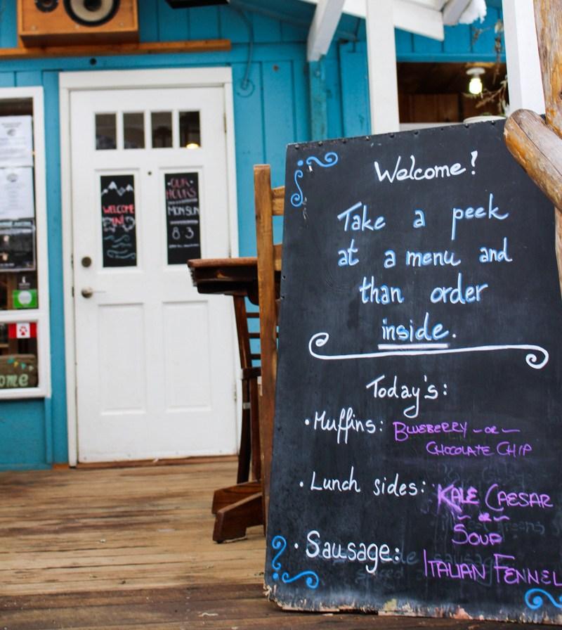Squamish Fergies Cafe at Sunwolf Lodge