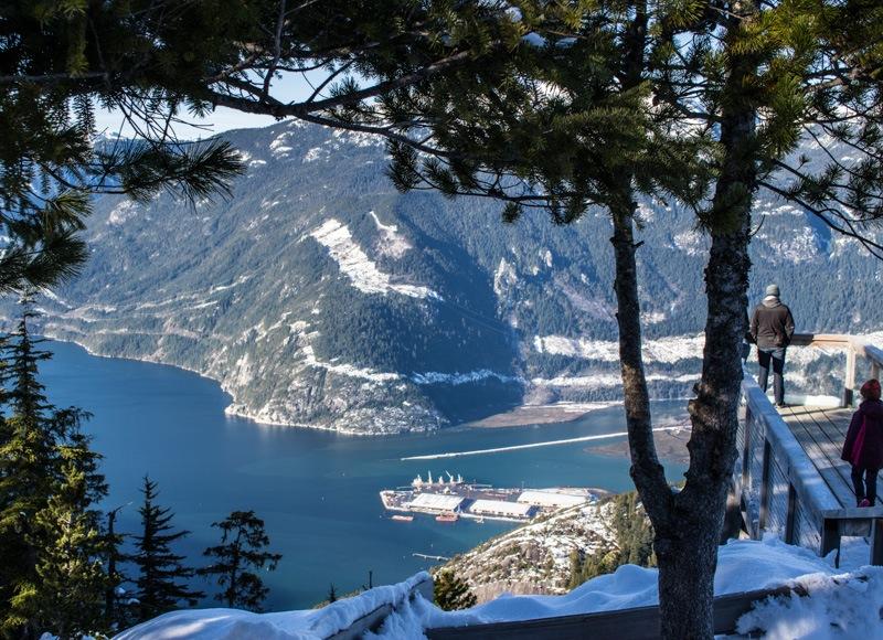 Squamish Sea to Sky Gondola the chief viewing platform