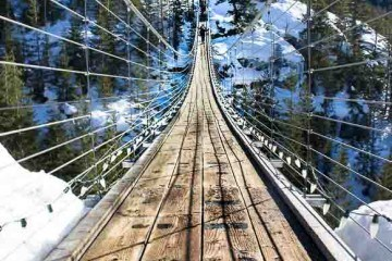 Sky Pilot Suspension Bridge Sea to Sky Gondola Squamish
