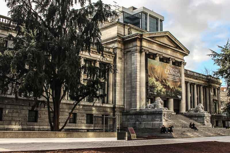 The Vancouver Art Gallery. Tips for what to see, do and eat in Vancouver, British Columbia, plus our recommendations on the best places to stay.
