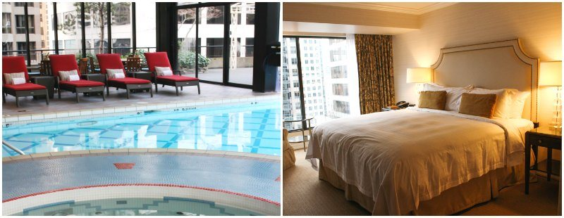Where to stay in Vancouver - the Vancouver Four Seasons Hotel Downtown