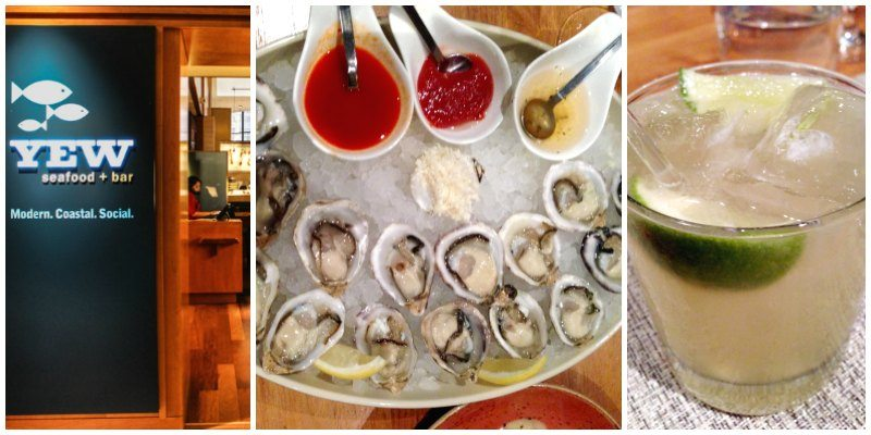 Where to Eat in Vancouver YEW Seafood and Bar in the Vancouver Four Seasons Hotel