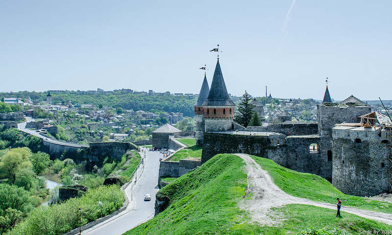 Kamianets Podilskyi fortress - one of Ukraine's must visit places