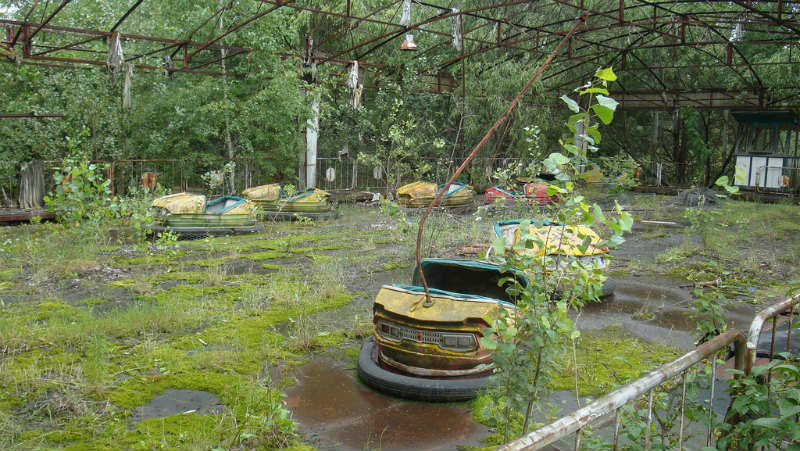 Pripyat, a ghost town near Chernobyl - 1 of 10 must visit places in Ukraine