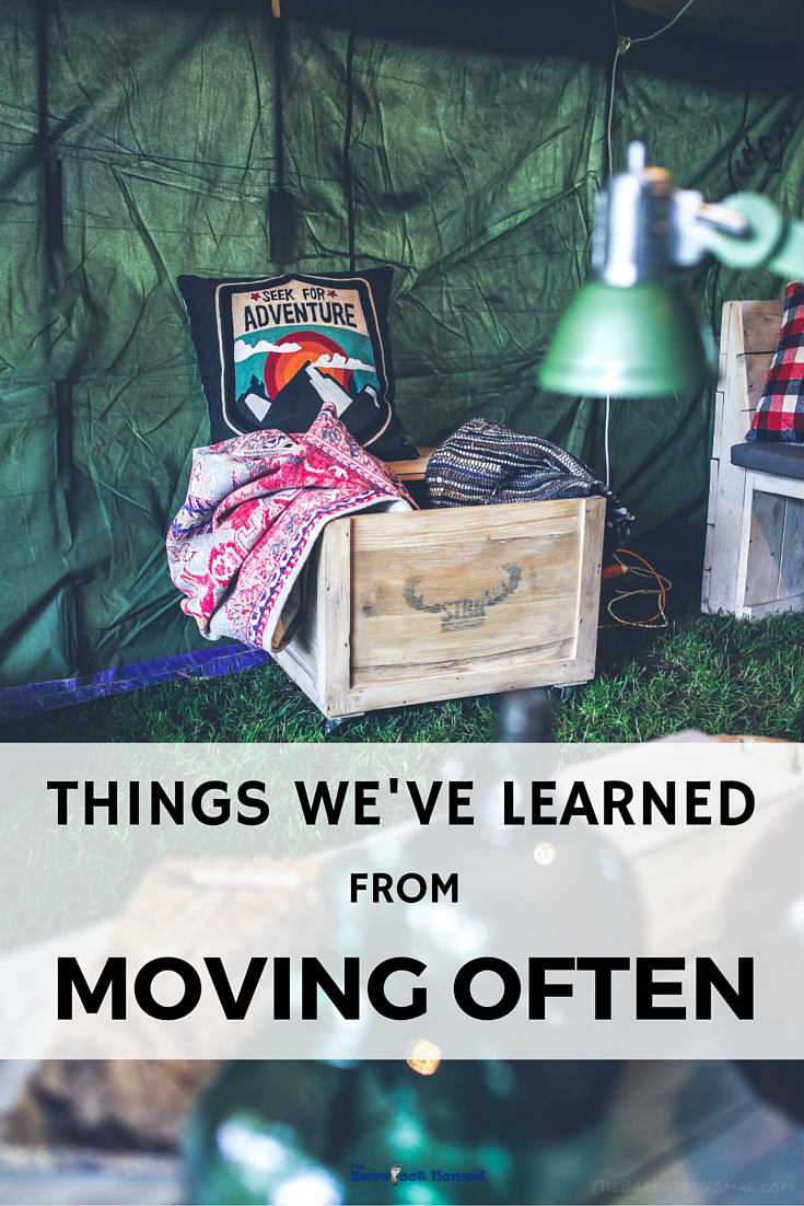 Things we've learned from Moving Often