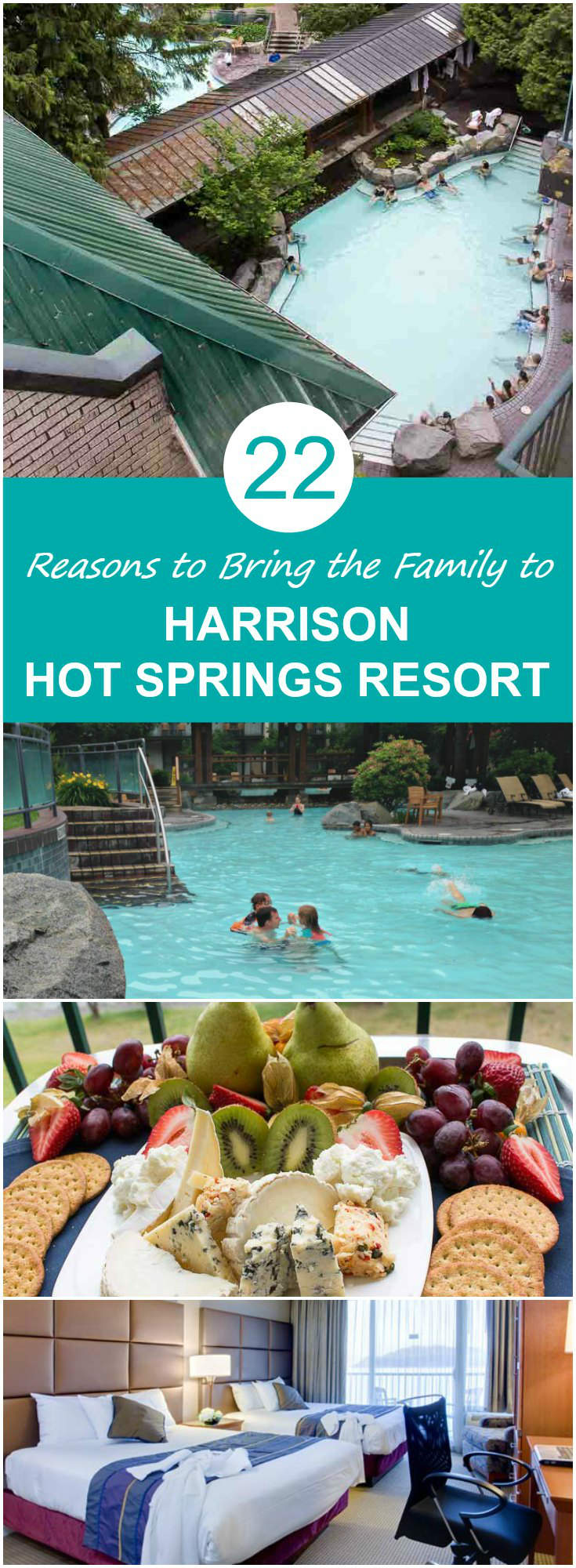 22 Reasons to Stay with the Family at Harrison Hot Springs Resort