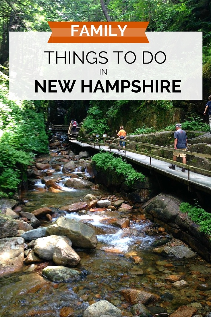 Family things to do in New Hampshire Summer