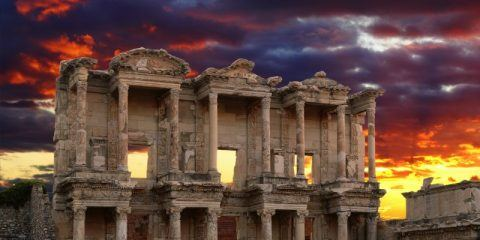 Things to do and see in Izmir Turkey Celsus Library in Ephesus