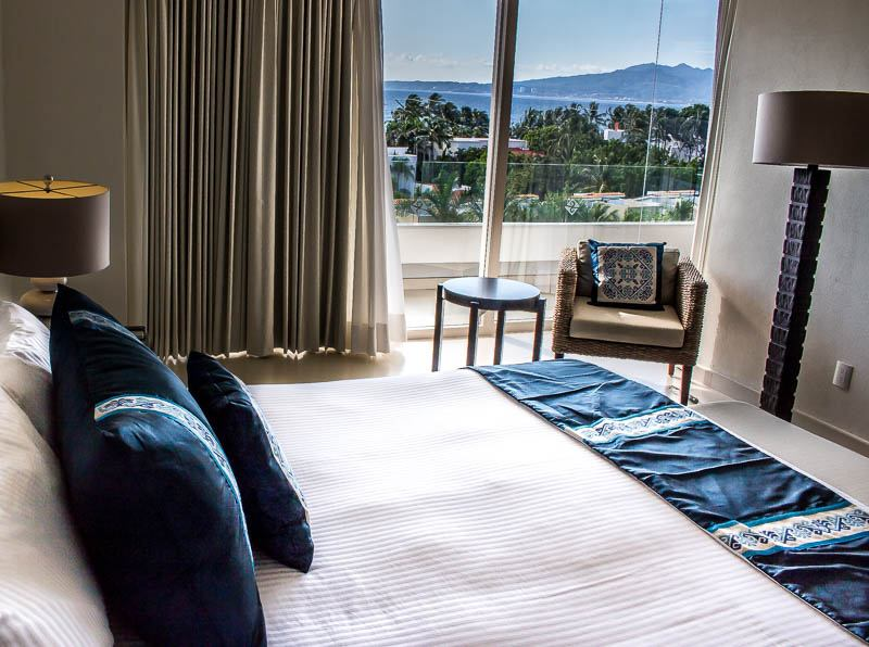 Master bedroom with a view Marival Residences Luxury Resort