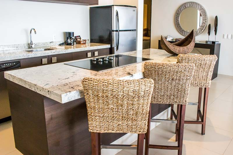 Marival Residences Residences and Luxury Resort Kitchen in two bedroom suite