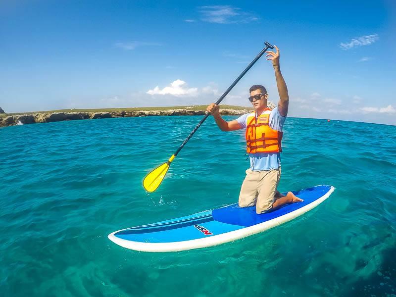 what to do in the Riviera Nayarit Marietas Islands Punta Mita Expeditions Paddleboarding