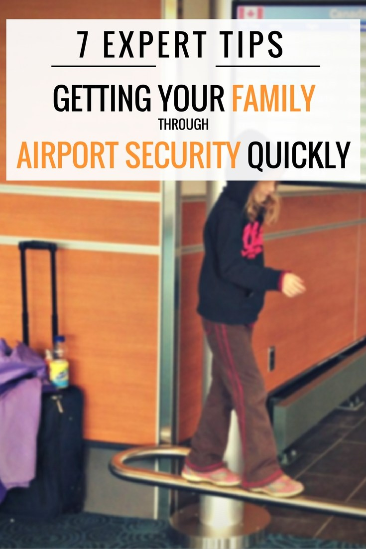 7 Expert Tips for Speeding Your Family Through Airport Security This Winter
