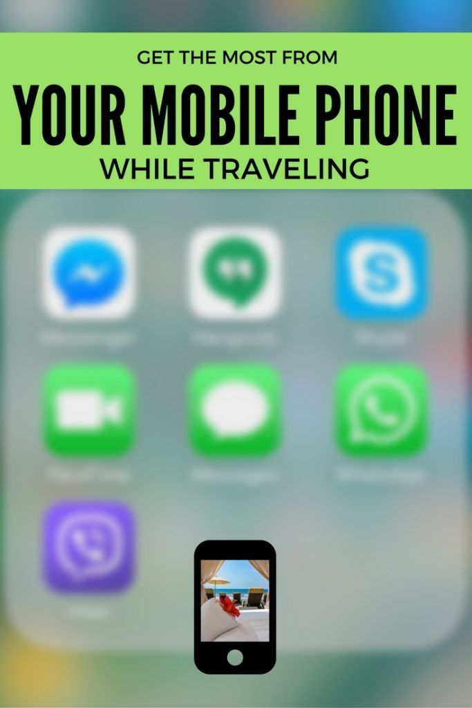 How To Get The Most Out Of Your Mobile Phone While Traveling