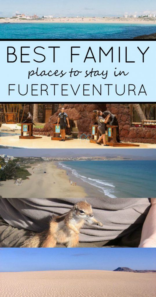 The Five Best Family Places to Stay in Fuerteventura