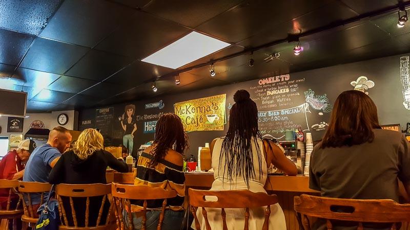 Mckenna S Cafe Dorchester Menu