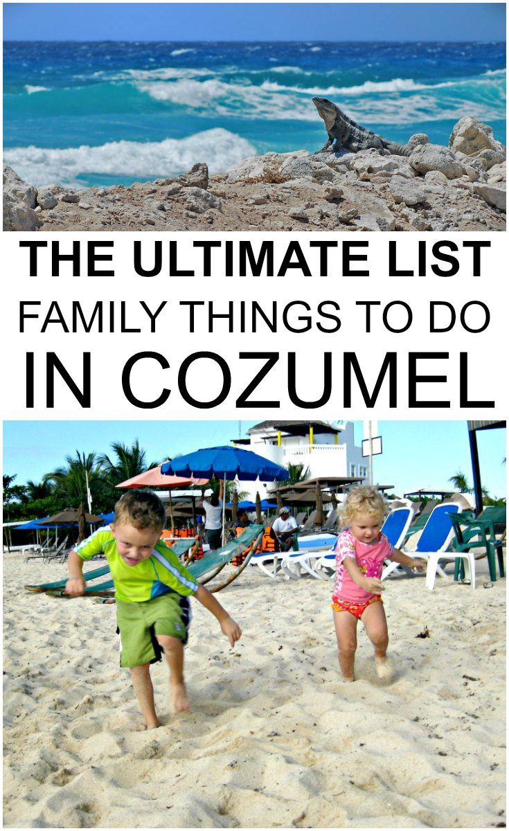 Family things to do in Cozumel