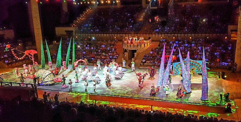 Xcaret Espectacular night show