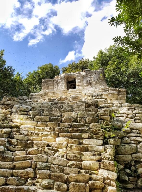 Xcaret Mayan ruins culture
