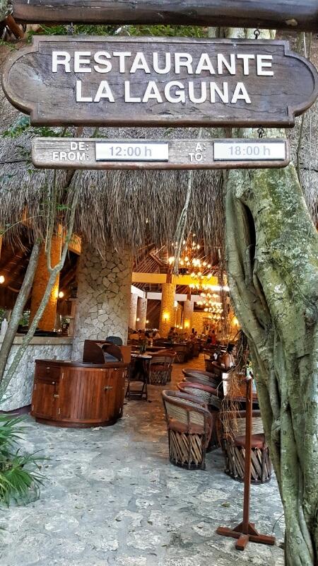 Xcaret Restaurante Laguna