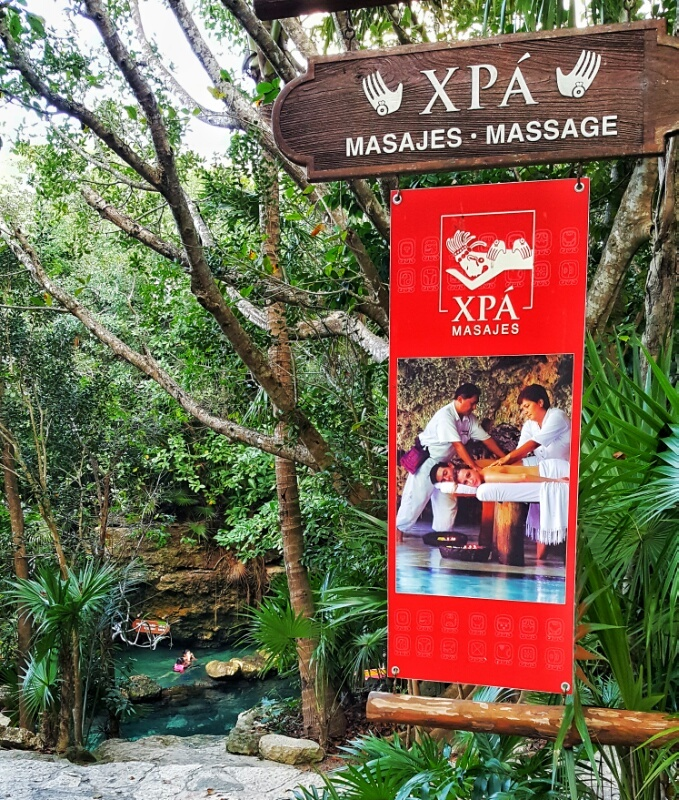 Xcaret Xpa massages