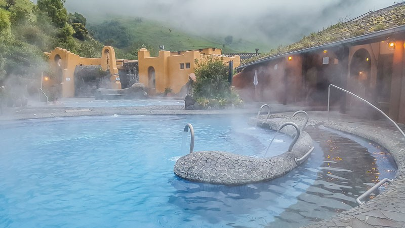 Exclusive Spa hot pools hotel Termas Papallacta