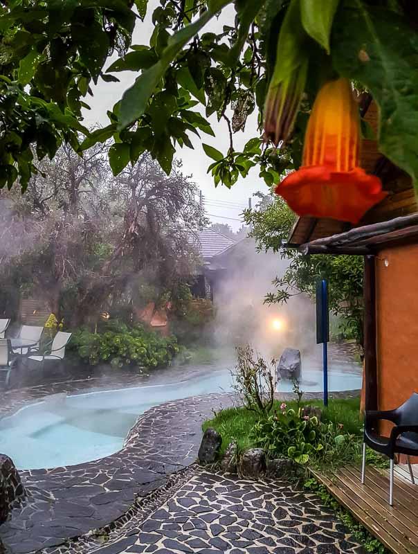 Family cabin private hot pool Termas Papallacta