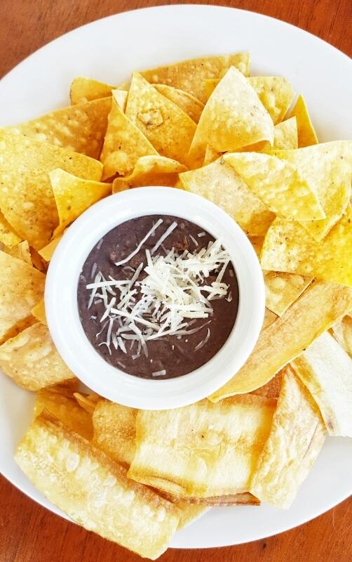 Homemade nacho chips