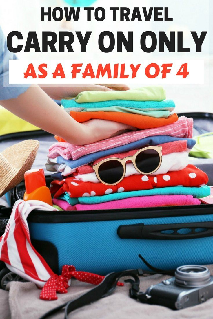 How to travel carry on only as a family of four | family travel luggage | family luggage | carry on for kids | carry on kids | carry on for kids travel tips