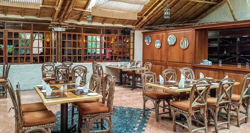 Main restaurant at Termas Papallacta