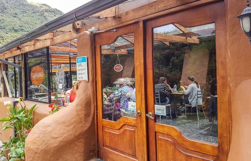 Pumamaki Restaurante Termas Papallacta public pool restaurant