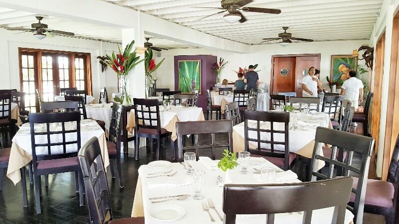 Restaurant Palmilla Victoria House San Pedro Belize