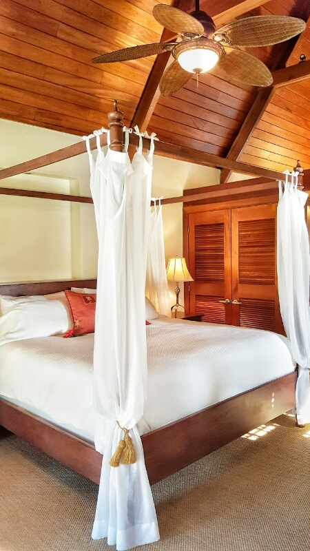 Victoria House Ambergris Caye King Size Bed