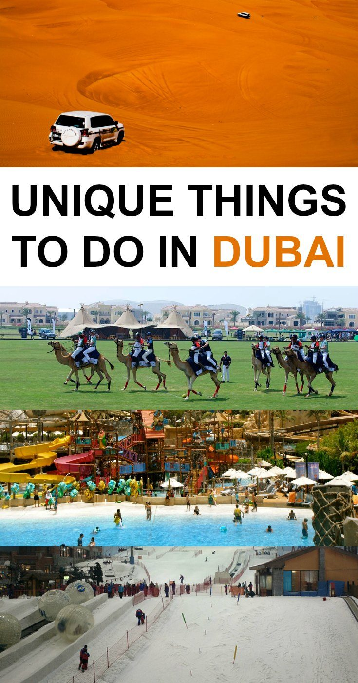 15 Unique Things to Do in Dubai