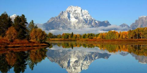 Grand Teton Mountains near Jackson Hole DP